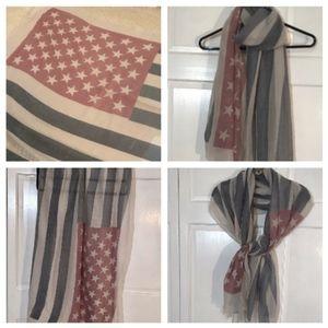Light America Flag Scarf